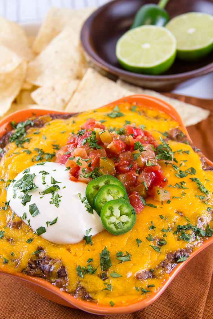 Mexican Bean Dip and other Football Tailgating Recipe Ideas from Everyday Good Thinking, the official blog of @HamiltonBeach