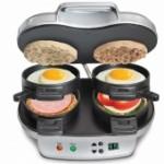 25490 Dual Breakfast Sandwich Maker from @hamiltonbeach