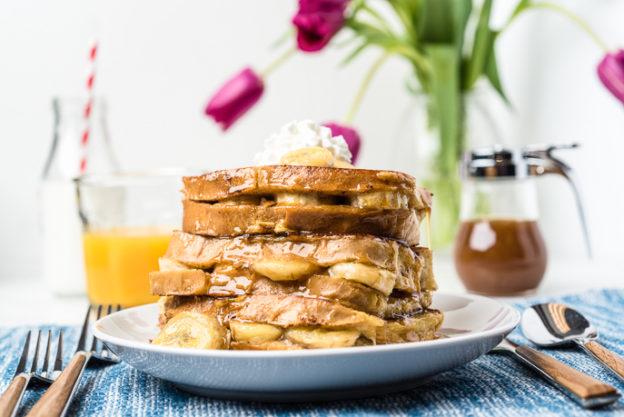 Banana Stuffed French Toast from Everyday Good Thinking by @hamiltonbeach