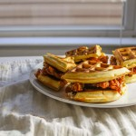 Center Stage: Korean Chicken and Waffles Sandwich from Broad Appetite