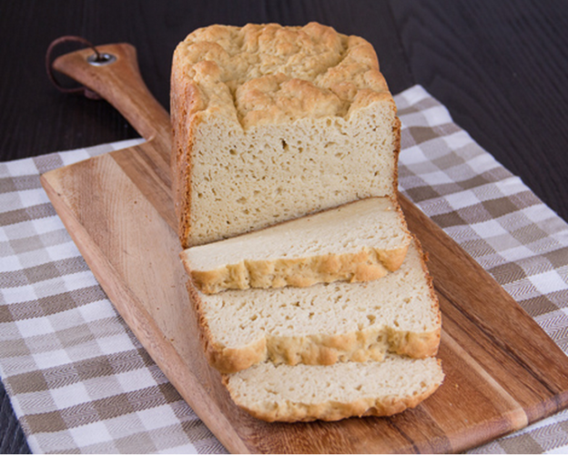 Gluten-free whole-grain bread from @hamiltonbeach