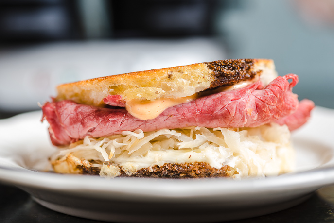Reuben Sandwiches Two Ways - On a panini grill or in a Breakfast Sandwich Maker. These are so good! (Everyday Good Thinking by @hamiltonbeach)