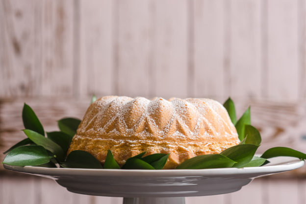 Sour Cream Pound Cake from Everyday Good Thinking by @hamiltonbeach